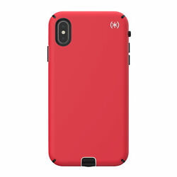Lot Of 75 Speck Presidio Sport Case Iphone Xs Max Heartrate Red/sidewalk Grey