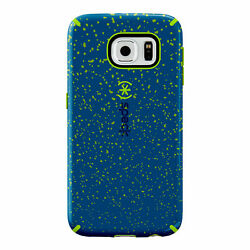 Lot Of 100 Speck Candyshell Inked Case Samsung Galaxy S6 Bluespeckle/tennisball