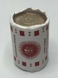 Uncirculated Official Vault Roll Quincy Adams One Dollar 10 Coin Roll Unopened