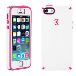 Lot Of 75 Speck Candyshell Plus Faceplate Case Iphone 5 5s Se White/pink/black