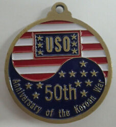 50th Anniversary Of The Korean War / 60th Birthday Of The U.s.o. Medal