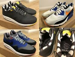 Nike Air Max Home Turf Collection Quickstrike - London And Paris - Size 9 Us Rare