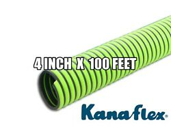 100 Ft. Roll 4 Kanaflex 300 Epdm Green All-weather Septic/water Suction Hose