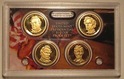 2010-s Us Presidential Proof Set With All Original Packaging And Coa