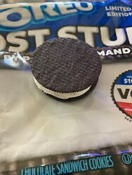 Oreo Factory DEFECT One Side Flipped THE MOST STUF Limited edition RARE!! Cookie