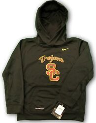 Usc Trojans Nike Boys Girls Therma-fit Hoodie Size 4 Official