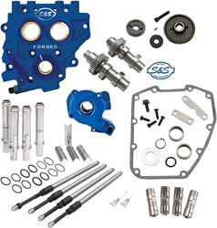 S And S Cycle 510 Series Cam Chest Kit Gear Driven For 2007-2016 Harley Davidson