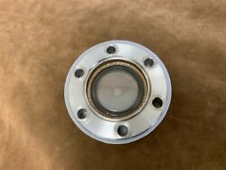 2.75 Od Conflat Cf Flange With A Fused Silica Viewport