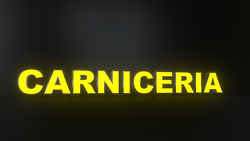 10pc Carniceria Led Black Side Panels Storefront Sign Ready To Install