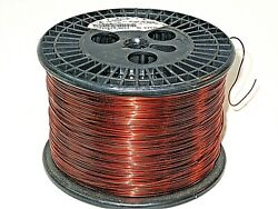 18 Awg Essex Magnet Wire Enameled Heavy Build 200 Degree Celsius 10.5 Lb Spool