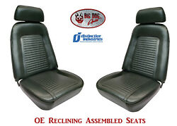Fully Assembled Seats 1969 Camaro Standard Oe Reclining - Your Choice Of Color