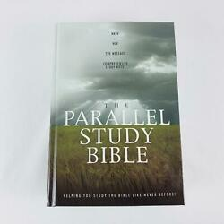 The Parallel Study Bible Nkjv Ncv Message Thomas Nelson 2006 Hardcover