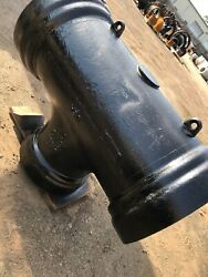 16andrdquo Fittings Ductile Iron Push Tyton 16andrdquox12andrdquo Tee Two 22.5 Degree Us Pipe Usa