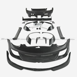 Frp Unpainted Rb Style Full Widebody Body Kits For Porsche 987.2 Cayman 09-12