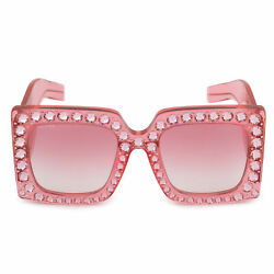 Gucci Hollywood Forever Oversized Square Sunglasses GG0145S 001 57