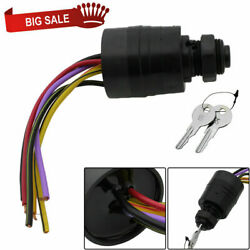 Mercury Ignition Key Switch 6 Wire Replaces 17009a2 17009a5 Outboard Mp41070-2