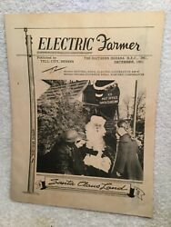1951 Issue Of Electric Farmer Magazine Tell City In With Santa Claus Land Photos
