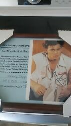 Autographed Johnny Depp Signed 8 X 10 Photo 21 Jump Street
