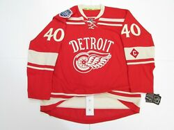 Detroit Red Wings 2014 Winter Classic Any Name / Number Reebok Edge 7231 Jersey
