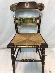 Hitchcock Chairs Co Hard To Find Abraham Lincoln Chair .coventry Stain Finish