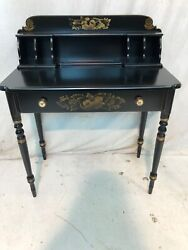 Hitchcock Chair Chairs Co Black Cubby Hole Desk