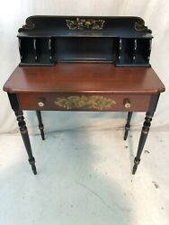 Hitchcock Chair Chairs Co Black/riverton Cubby Hole Desk