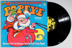 Popeye - Hear Four Exciting Christmas Stories 1977 Vinyl Lp •play-graded• 4