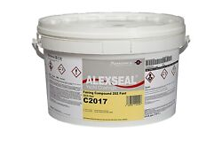 Alexseal Boat Paint - Fairing Compound 202 Kit - White - Gray - Red - Part A+b