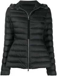 Nw Moncler Quilted Down Jacket Amethyste 1a10600c0355 Black W/code