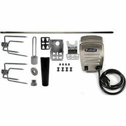Onegrill 4ps64 Universal Complete Grill Rotisserie Kit Electric Motor -45x5/16