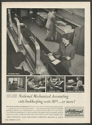 National Accounting And Adding Machines,cash Registers - 1948 Vintage Print Ad