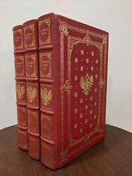 Franklin Library Leo Tolstoy War And Peace I/ii/iii Great Books 25th Anniv Notes
