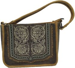 Concealed Carry Hobo Single Strap Purse Embroidered Boho Design $172.49