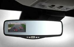 Peak Rearview Backup Camera Mirror System 11 With 3.5 Color Lcd Monitor