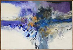 Abstract Expressionist Composition By John O Thomson