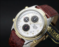 New Old Stock Racer Chronograph Dancing Hands Japanese Vintage Watch Nos