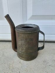 Antique Vintage Swingspout Oil Can Automobile Motorcycle Gas Station Advertising