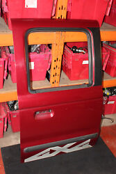 Ford Ranger 2.5 Td Xlt 4x4 Pick Up Osr Rear Right Driver Side Bare Door In Red