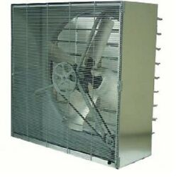 New Tpi 24 Cabinet Exhaust Fan With Shutters Cbt-24b-3 1/3 Hp 3270 Cfm 3 Ph