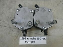 1995 Yamaha Outboard 150 Hp Fuel Pump Both Included 6e5-24410-03-00