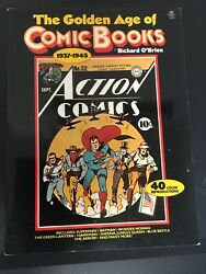 The Golden Age Of Comic Books, 1937-1945 By Richard O'brien 1977, Color Covers