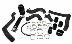 Wc Fab High Flow Bundle Intake Kit For 04.5-05 Duramax Lly Metallic Candy Red