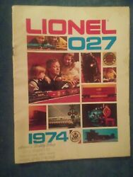 1974 Lionel Trains 027 Catalog Train Models Types And Accessories