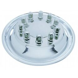 22 1/2 O.d. Stainless Front Simulator Set - 2 Vent Hole, Hub Piloted
