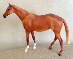 Breyer Traditional Model Horse LET#x27;S GO RIDING Light Chestnut Thoroughbred Mare