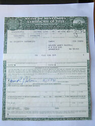1973 Lincoln Continental 4 Door Convertible  Barn Find Historical Document