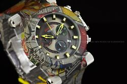 51mm Coalition Forces Aqua Plated Hydro Plated Swiss Multicolor Watch
