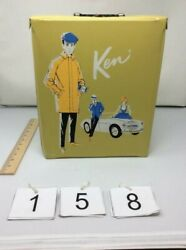 Vintage Ken Barbie Doll With Case, Clothes And Accessories