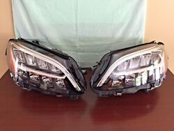 2019 2020 Mercedes Benz Pair Rh And Lh Led Headligth Oem Intact Greate Condition