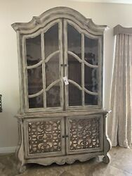 New Hooker Furniture China Cabinet Hutch And Buffet Discontinued Piece